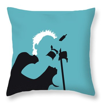 No095 My The Offspring Minimal Music Poster Throw Pillow