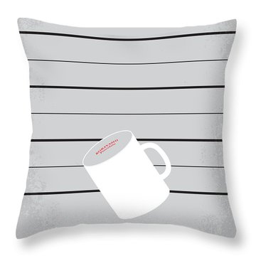 No095 My The Usual Suspects Minimal Movie Poster Throw Pillow