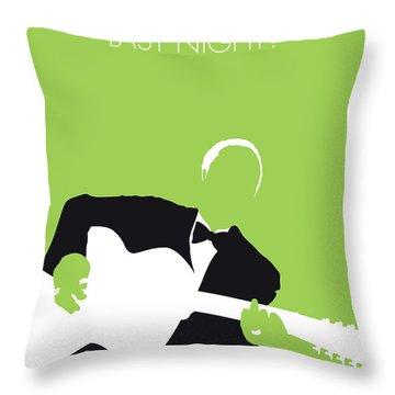 No096 My Lead Belly Minimal Music Poster Throw Pillow