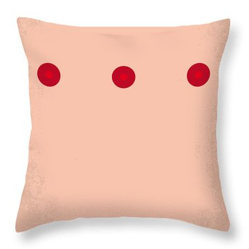 No097 My Total Recall Minimal Movie Poster Throw Pillow by Chungkong Art