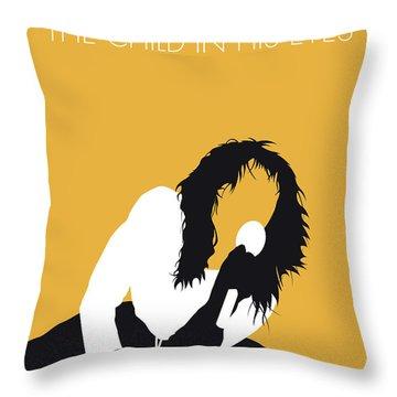 No104 My Kate Bush Minimal Music Poster Throw Pillow