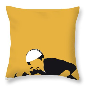 No114 My Grandmaster Flash Minimal Music Poster Throw Pillow