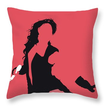 No122 My Beyonce Minimal Music Poster Throw Pillow