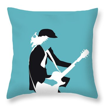 No125 My Acdc Minimal Music Poster Throw Pillow