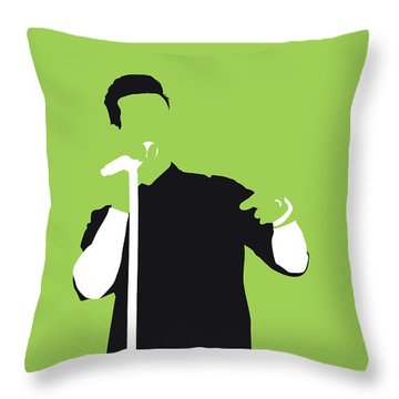 No126 My Maroon 5 Minimal Music Poster Throw Pillow