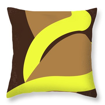No127 My From Dusk This Dawn Minimal Movie Poster Throw Pillow