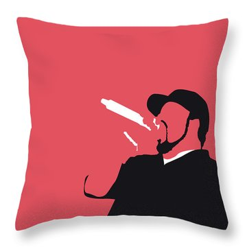 No132 My Ice Cube Minimal Music Poster Throw Pillow