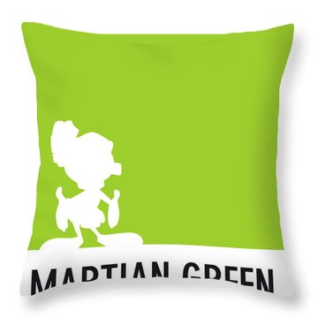No15 My Minimal Color Code Poster Marvin Throw Pillow
