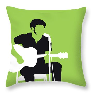 No156 My Bill Withers Minimal Music Poster Throw Pillow