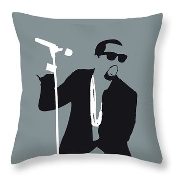 No157 My Kanye West Minimal Music Poster Throw Pillow