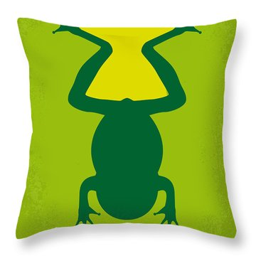 No159 My Magnolia Minimal Movie Poster Throw Pillow