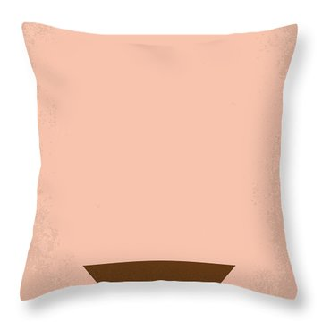 No160 My Emmanuelle Minimal Movie Poster Throw Pillow by Chungkong Art