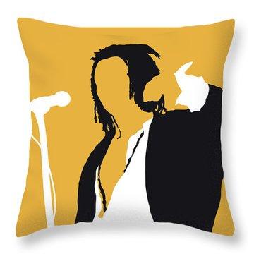 No164 My Seal Minimal Music Poster Throw Pillow