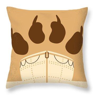 No173 My Life Of Pi Minimal Movie Poster Throw Pillow
