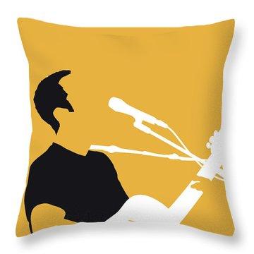 No174 My Jack Johnson Minimal Music Poster Throw Pillow