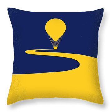 No177 My Wizard Of Oz Minimal Movie Poster Throw Pillow