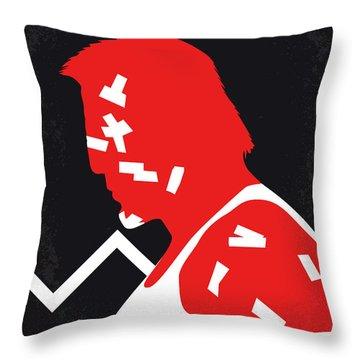 No304-1 My Sin City Minimal Movie Poster Throw Pillow