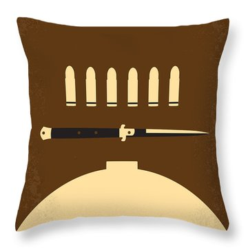 No318 My Rebel Without A Cause Minimal Movie Poster Throw Pillow by Chungkong Art