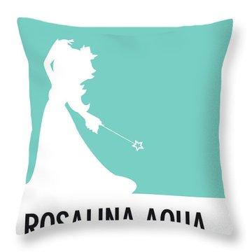 No39 My Minimal Color Code Poster Rosalina Throw Pillow