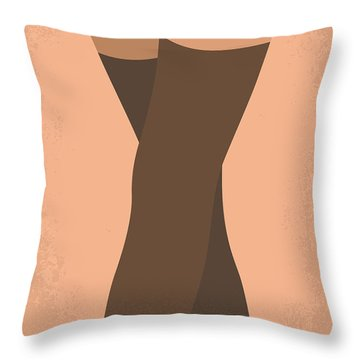 No438 My The Girlfriend Experience Minimal Movie Poster Throw Pillow