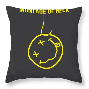 No448 My Montage Of Heck Minimal Movie Poster Throw Pillow