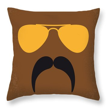 No459 My Super Troopers Minimal Movie Poster Throw Pillow