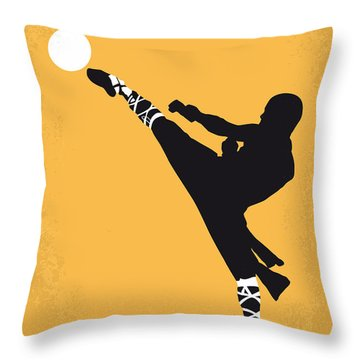 No480 My Shaolin Soccer Minimal Movie Poster Throw Pillow by Chungkong Art