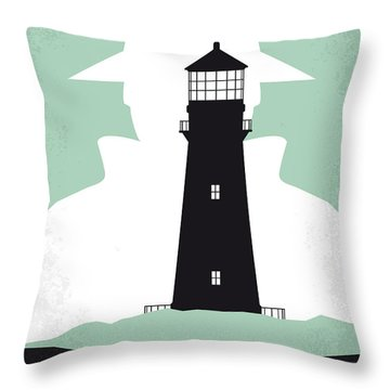 No513 My Shutter Island Minimal Movie Poster Throw Pillow