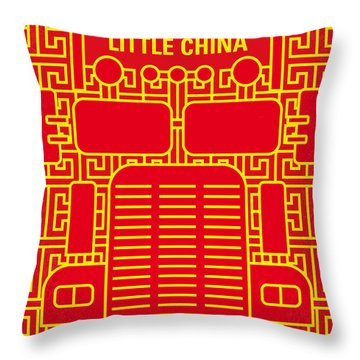 No515 My Big Trouble In Little China Minimal Movie Poster Throw Pillow
