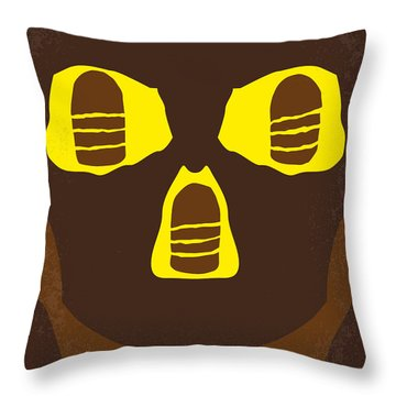 No517 My The Temple Of Doom Minimal Movie Poster Throw Pillow