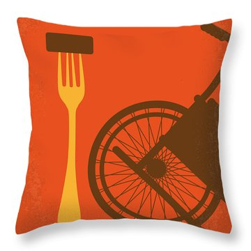 No536 My Dirty Rotten Scoundrels Minimal Movie Poster Throw Pillow