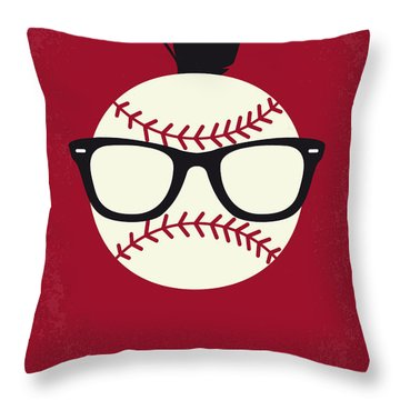 No541 My Major League Minimal Movie Poster Throw Pillow