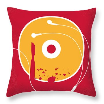 No547 My Burn After Reading Minimal Movie Poster Throw Pillow