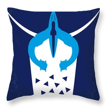 No551 My Galaxy Quest Minimal Movie Poster Throw Pillow