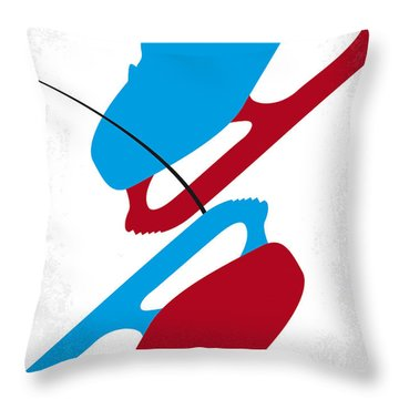 No562 My Blades Of Glory Minimal Movie Poster Throw Pillow