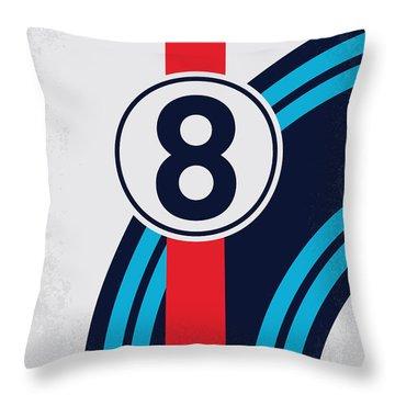 No565 My Bobby Deerfield Minimal Movie Poster Throw Pillow