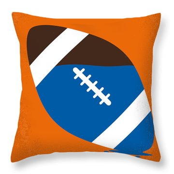 No580 My The Waterboy Minimal Movie Poster Throw Pillow