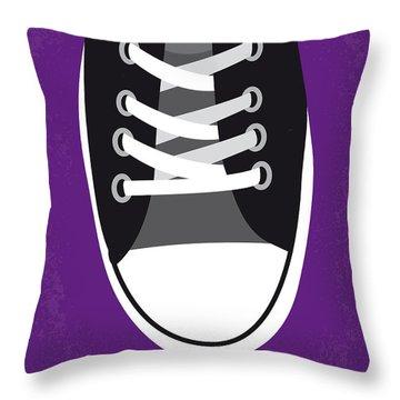 No610 My Footloose Minimal Movie Poster Throw Pillow