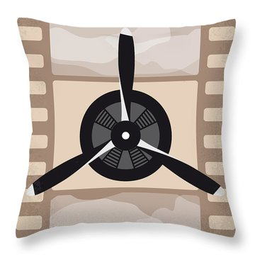 No618 My The Aviator Minimal Movie Poster Throw Pillow