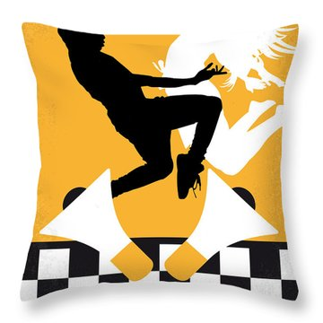 No619 My Fame Minimal Movie Poster Throw Pillow