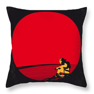 No620 My The Martian Minimal Movie Poster Throw Pillow