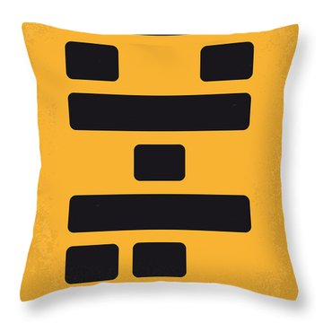 No622 My The Big Short Minimal Movie Poster Throw Pillow