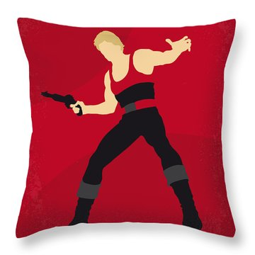 No632 My Flash Gordon Minimal Movie Poster Throw Pillow