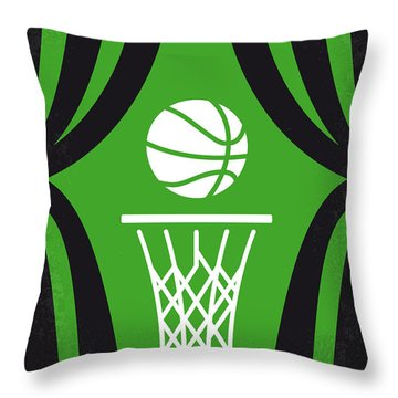 No633 My High School Musical Minimal Movie Poster Throw Pillow