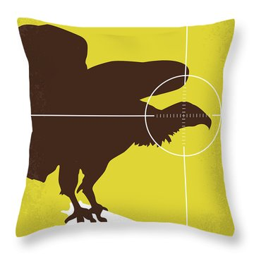 No659 My Three Days Of The Condor Minimal Movie Poster Throw Pillow