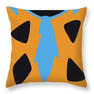 No669 My The Flintstones Minimal Movie Poster Throw Pillow