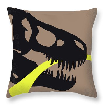 No672 My Night At The Museum Minimal Movie Poster Throw Pillow