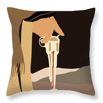 No721 My A Fistful Of Dollars Minimal Movie Poster Throw Pillow