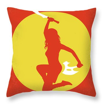 No722 My Serenity Minimal Movie Poster Throw Pillow