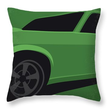 No759 My John Wick Minimal Movie Poster Throw Pillow